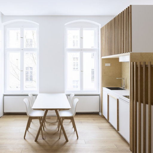trujillomoya architects // flat in glogauer strasse